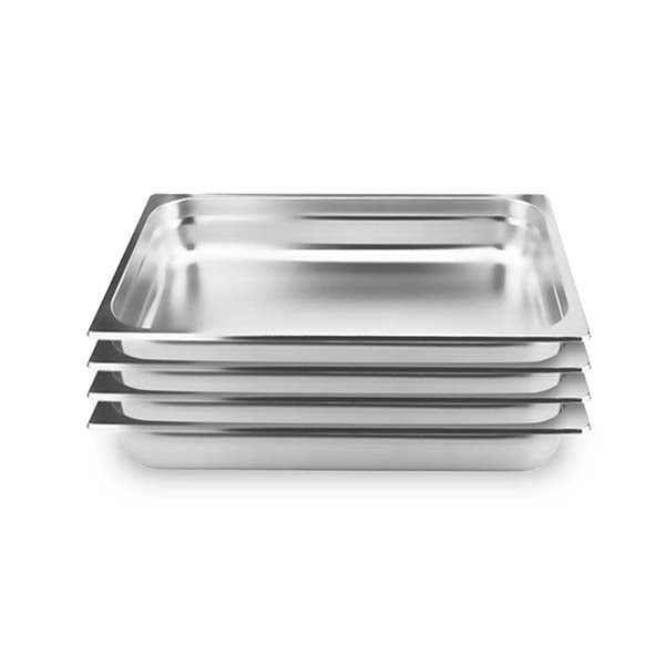 Soga 4X Gastronorm Gn Pan Full Size 10Cm Deep Stainless Steel Tray