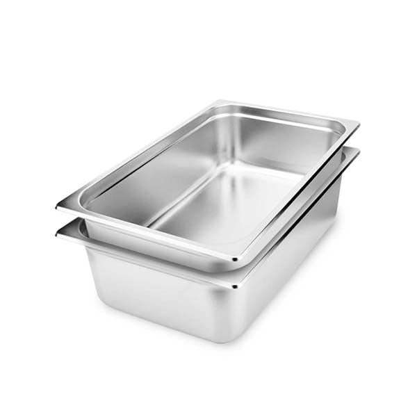 Soga 2X Gastronorm Full Size Pan 15Cm Deep Stainless Steel Tray