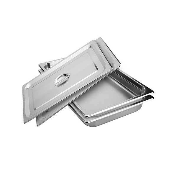 Soga 2X Gastronorm Full Size Pan 10Cm Stainless Steel Tray With Lid