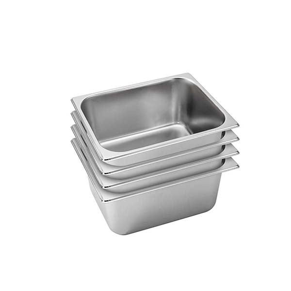 Soga 4X Gastronorm Full Size Gn Pan 15Cm Deep Stainless Steel Tray