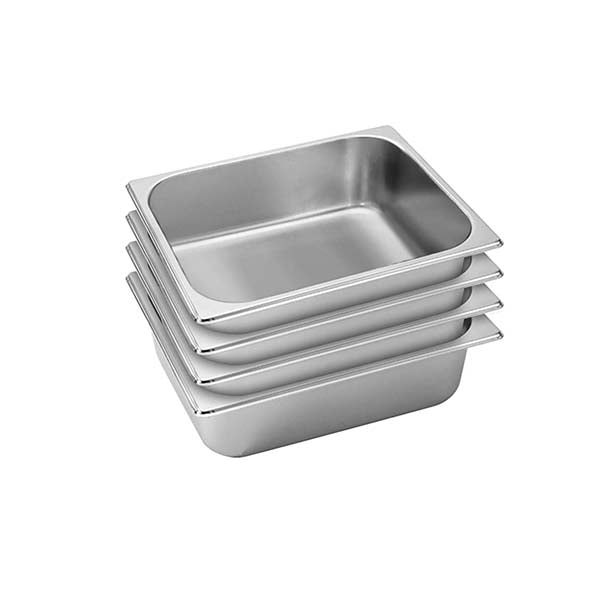 Soga 4X Gastronorm Full Size Gn Pan 10Cm Deep Stainless Steel Tray
