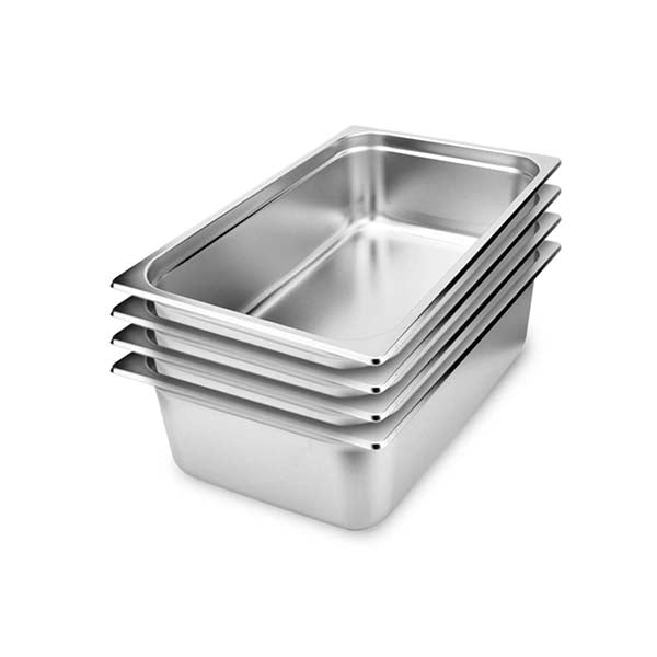 Soga 4X Gastronorm Gn Pan Full Size 15Cm Deep Stainless Steel Tray