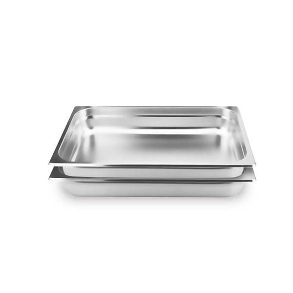 Soga 2X Gastronorm Pan Full Size 10Cm Deep Stainless Steel Tray
