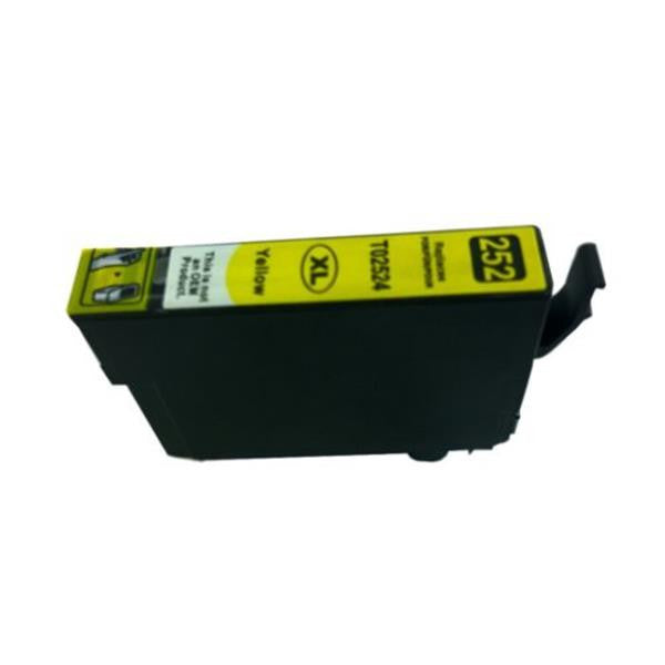 252XL Yellow Compatible Inkjet Cartridge