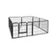 8 Panel Pet Dog Playpen Exercise Enclosure Fence Portable 80 x 60 Cm