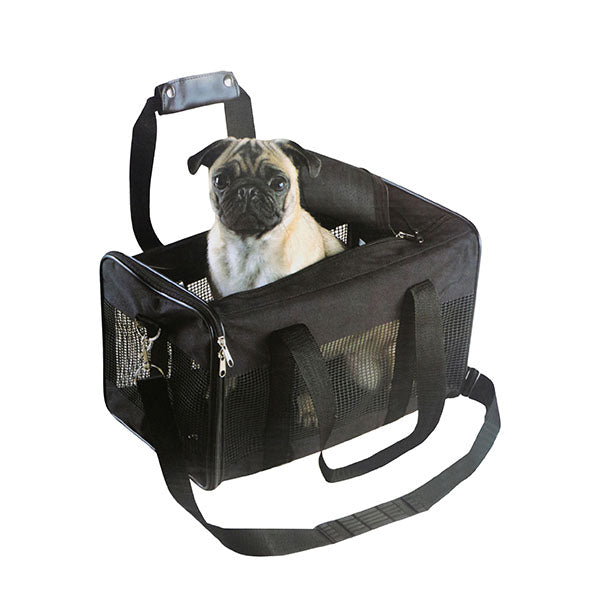Pet Carrier Nylon Mesh With Handles