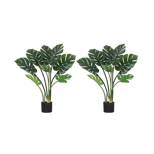 Soga 2X 93Cm Artificial Indoor Potted Turtle Back Tree Flower Pot