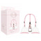 Pumped Breast Pump Set - Rose Pink Large Breast Pump Set