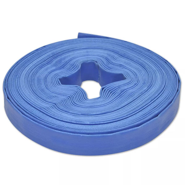 PVC Flat Water Delivery Hose 25 M 1""