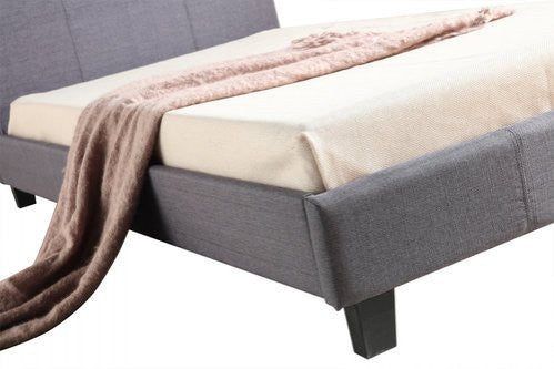 Palermo King Single Bed with Linen Fabric