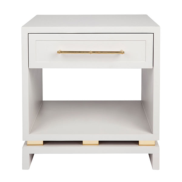 Pearl Bedside Table Small
