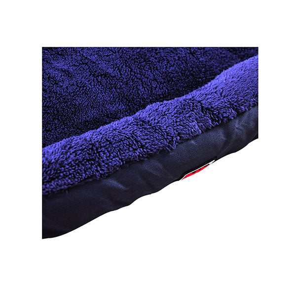 Pet Bed Mattress Dog Cat Pad Cushion Soft Winter Warm Large Blue