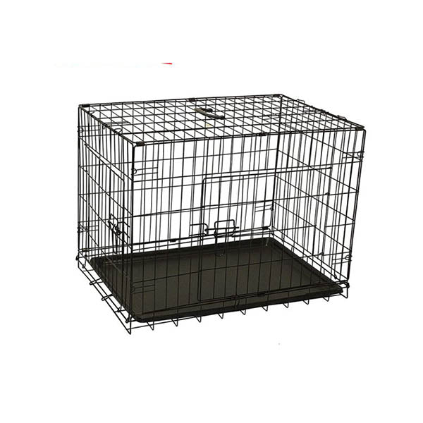 Pet Dog Cage Crate Kennel Portable Collapsible Puppy Metal Playpen