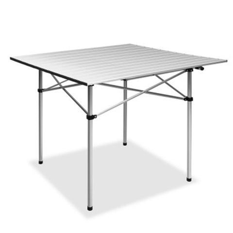 PORTABLE ROLL UP FOLDING CAMPING TABLE
