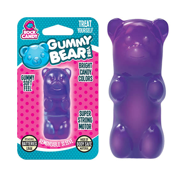 Rock Candy Gummy Bear Vibe - Purple Bullet