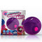Rock Candy Gummy Ball - Jelly Bean Purple Disposable Finger Stimulator