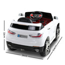 BMW Style X5 Electric Toy Car - White