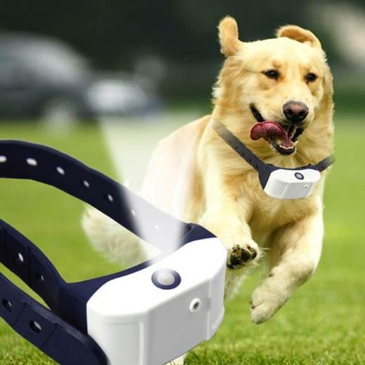 Rechargeable Citronella Dog Collar Stop Barking Spray Mist Training