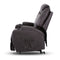 Electric Recliner Lift Chair Massage Armchair Heating PU Leather Brown