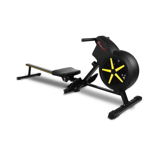 Rowing Exercise Machine Rower Resistance Fitness Home Gym Cardio Air