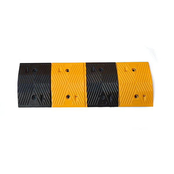 Randy & Travis Pair of 1m Long 60T Load Rubber Modular Speed Humps