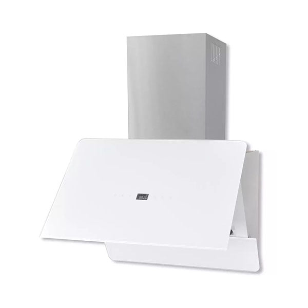 Range Hood Tempered Glass White 600 Mm