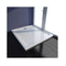 Rectangular Abs Shower Base Tray White 80 X 90 Cm