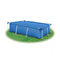 Rectangular Pool Cover Pe Blue