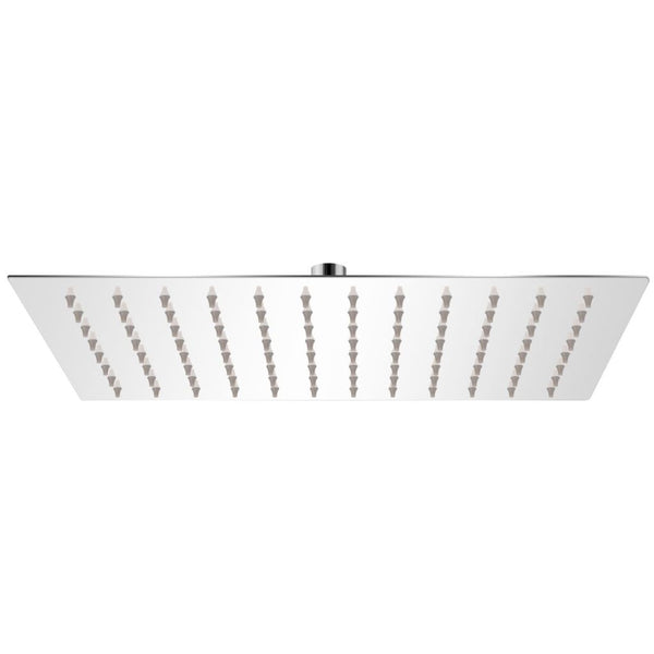 Rectangular Rain Shower Head Stainless Steel 20 x 30 Cm