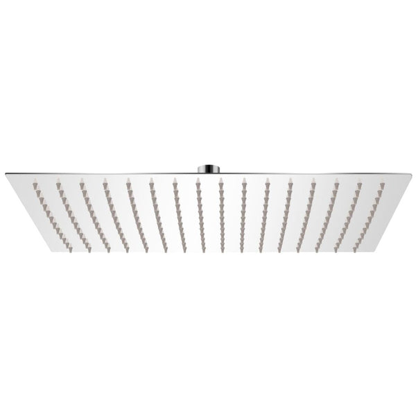 Rectangular Rain Shower Head Stainless Steel 30 x 40 Cm