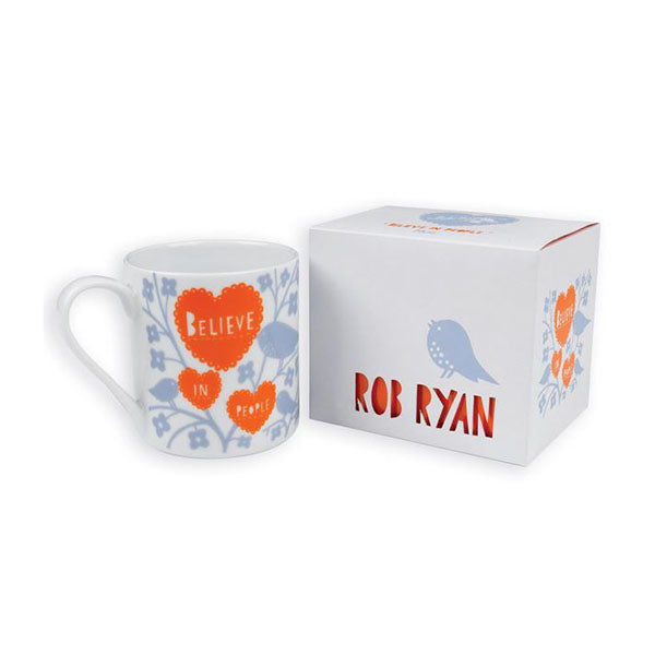 Rob Ryan Designer Mug Contemporary Inspirational Design
