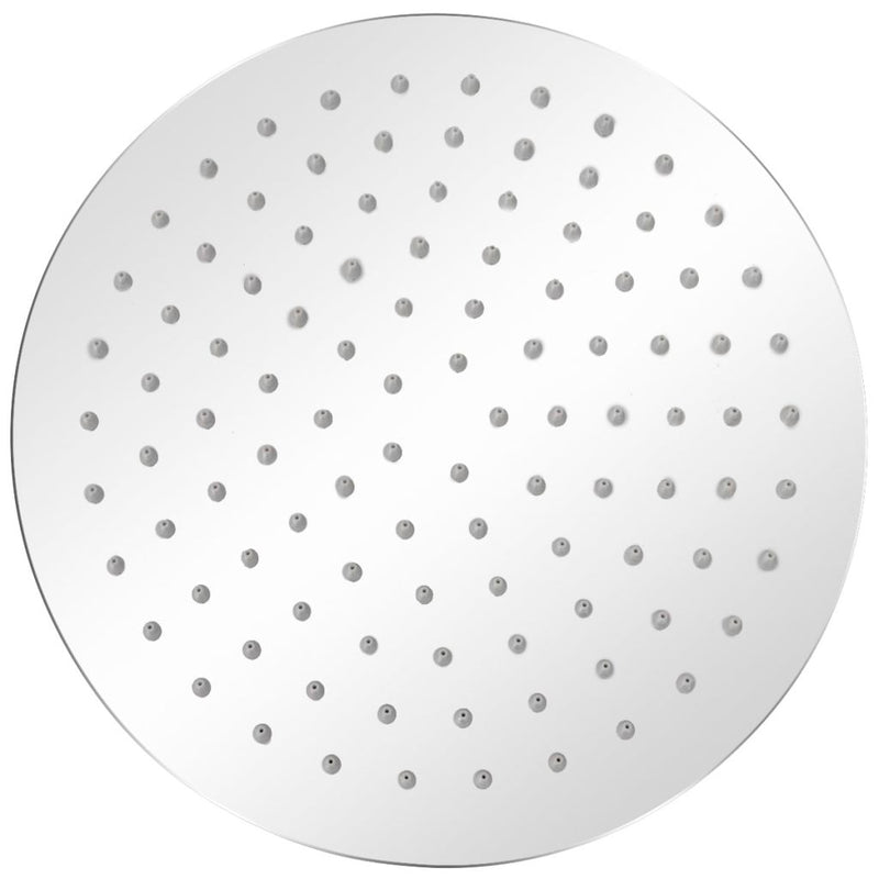 Round Rain Shower Head Stainless Steel 25 Cm