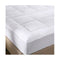 Royal Comfort Memory Mattress Protector Underlay White
