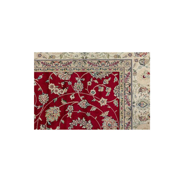 Royal Palace Red Silk Rug