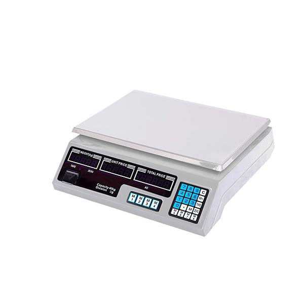 Soga 40Kg Digital Kitchen Scales Shop Electronic Weight Food White