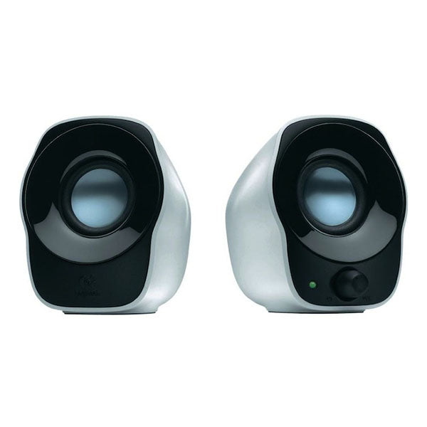 Logitech Z120 Usb Powered Speakers 3.5mm Audio Volume Control