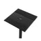 Set of 2 120CM Surround Sound Speaker Stand - Black