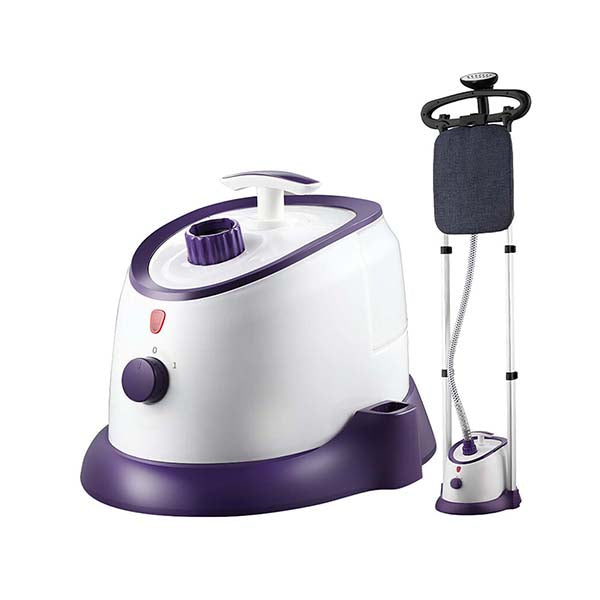 Soga Garment Steamer Twin Pole 1700Ml 1800W Professional Kit Purple