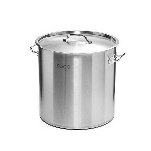 Soga Stock Pot 170L Top Grade Thick Stainless Steel Stockpot