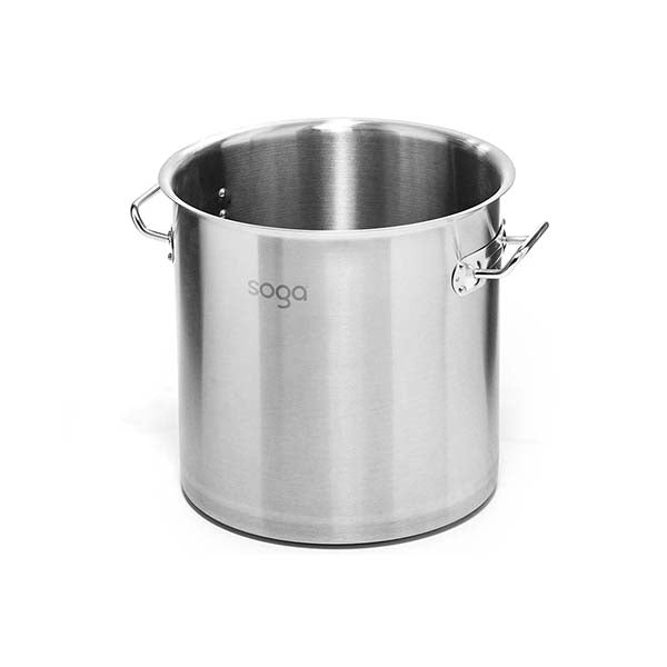 Soga Stock Pot 170L Top Grade Thick Stainless Steel Without Lid