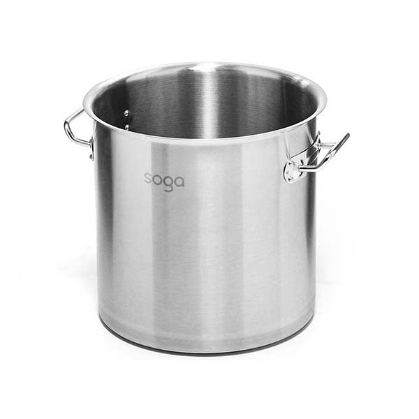 Soga Stock Pot 71L Top Grade Thick Stainless Steel Without Lid