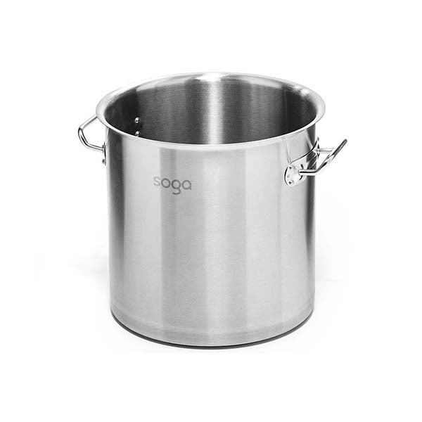 Soga Stock Pot 225L Top Grade Thick Stainless Steel Without Lid