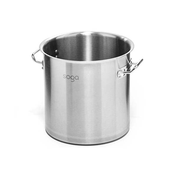 Soga Stock Pot 198L Top Grade Thick Stainless Steel Without Lid