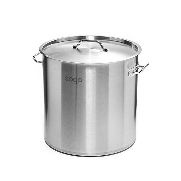 Soga Stock Pot 71L Top Grade Thick Stainless Steel Stockpot