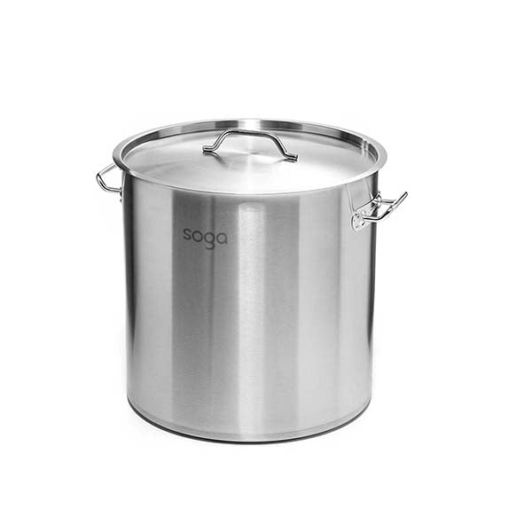 Soga Stock Pot 225Lt Top Grade Thick Stainless Steel 60Cmx80Cm