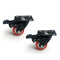 Randy & Travis 8 Polyurethane Swivel Castor Wheels 4 with Brake