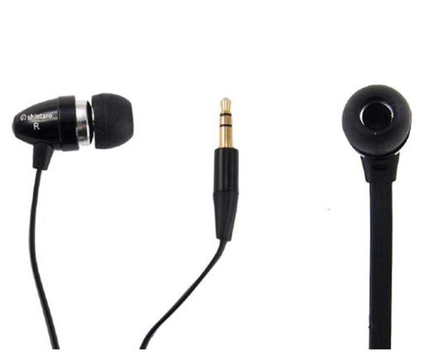 Shintaro Stereo Earphone Flat Cable (Tangle-Free Technology)