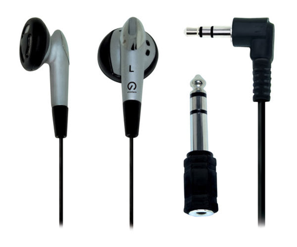 Shintaro Stereo Earphone Kit (with 3.5mm to 6.5mm Adapter)