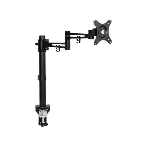 Monitor Arm Mount Single Black