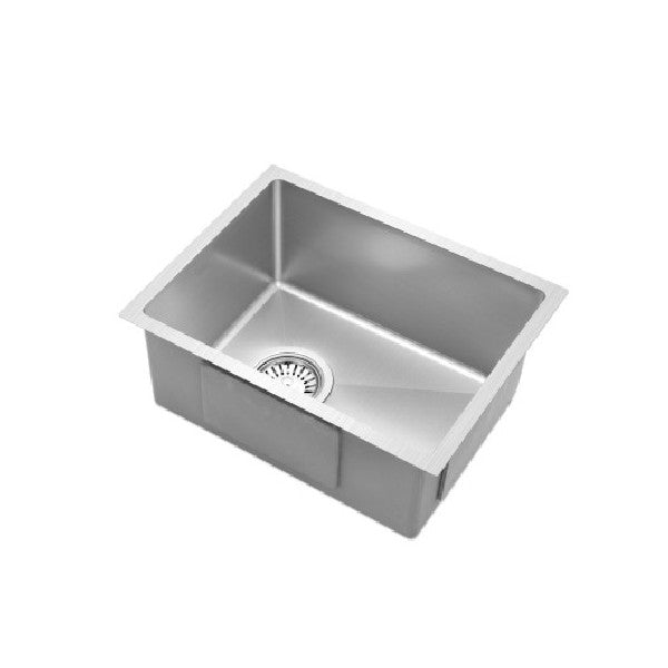 340x440mm Stainless Steel Kitchen Laundry Sink Single Bowl Nano